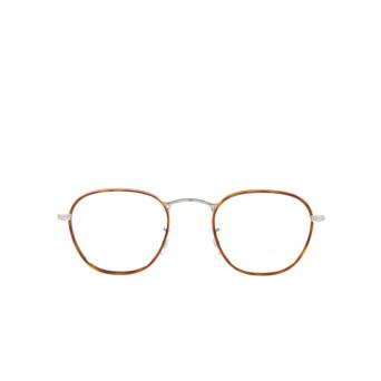 Oliver Peoples® Round Eyeglasses: Eoin OV1237J color Amber Tortosie 5036.