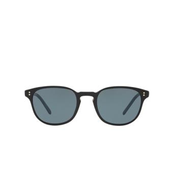 Oliver Peoples® Square Sunglasses: Fairmont Sun OV5219S color Black 1005R8.