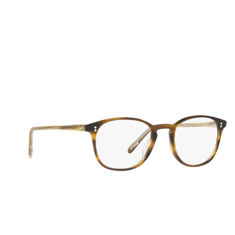 Oliver Peoples® Square Eyeglasses: Finley Vintage OV5397U color Semi Matte Moss Tortoise 1318.