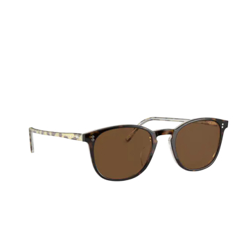 Oliver Peoples® Square Sunglasses: Finley Vintage Sun OV5397SU color 362 / Horn 166657.