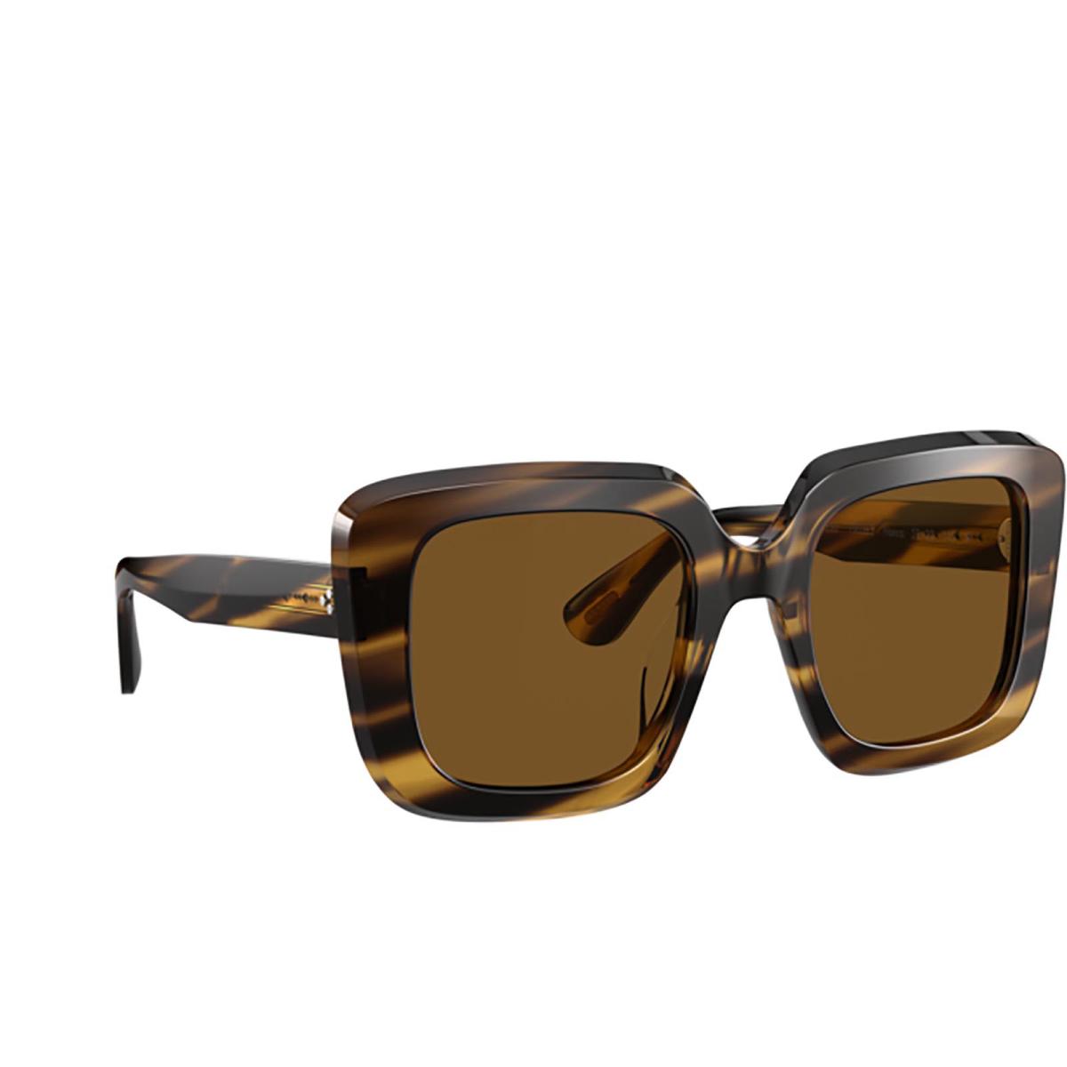 Oliver Peoples® Square Sunglasses: Franca OV5443SU color Cocobolo 100383.