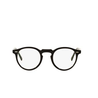Oliver Peoples® Round Eyeglasses: Gregory Peck OV5186 color Black (bk) 1005.