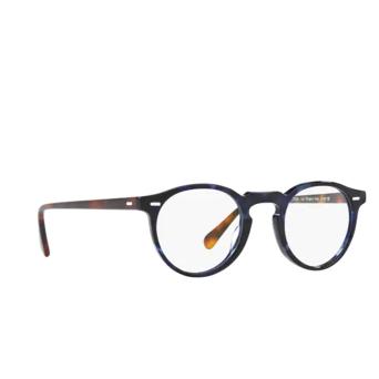 Oliver Peoples® Round Eyeglasses: Gregory Peck OV5186 color Cobalt Tortoise 1569.
