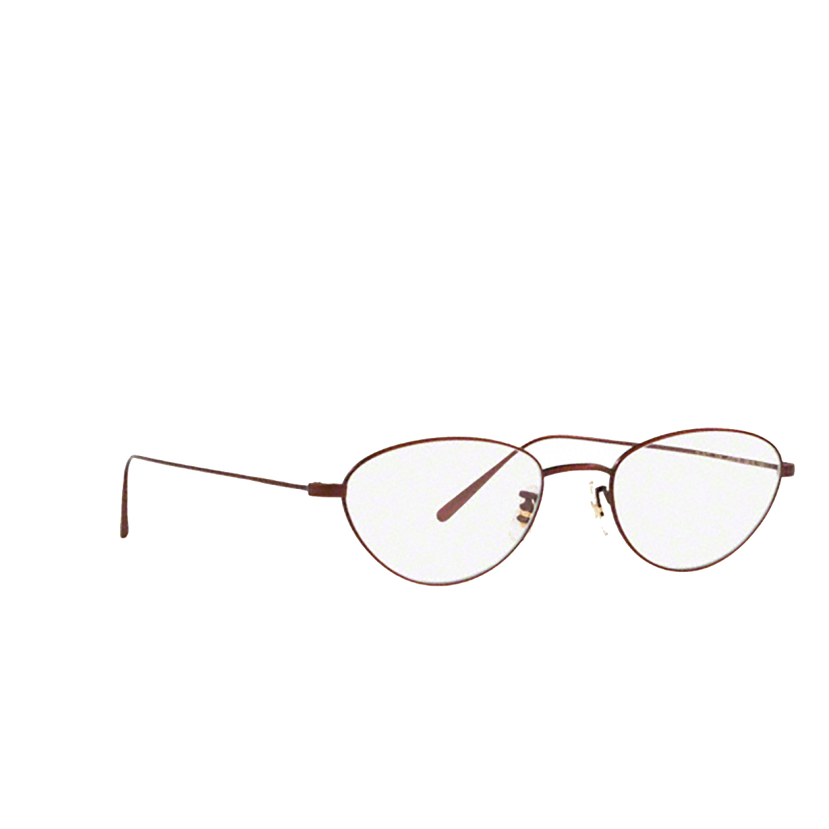 Oliver Peoples® Oval Eyeglasses: Jozette OV1247T color 5294 - three-quarters view.