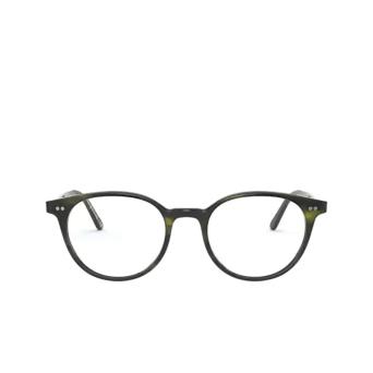 Oliver Peoples® Round Eyeglasses: Mikett OV5429U color Emerald Bark 1680.