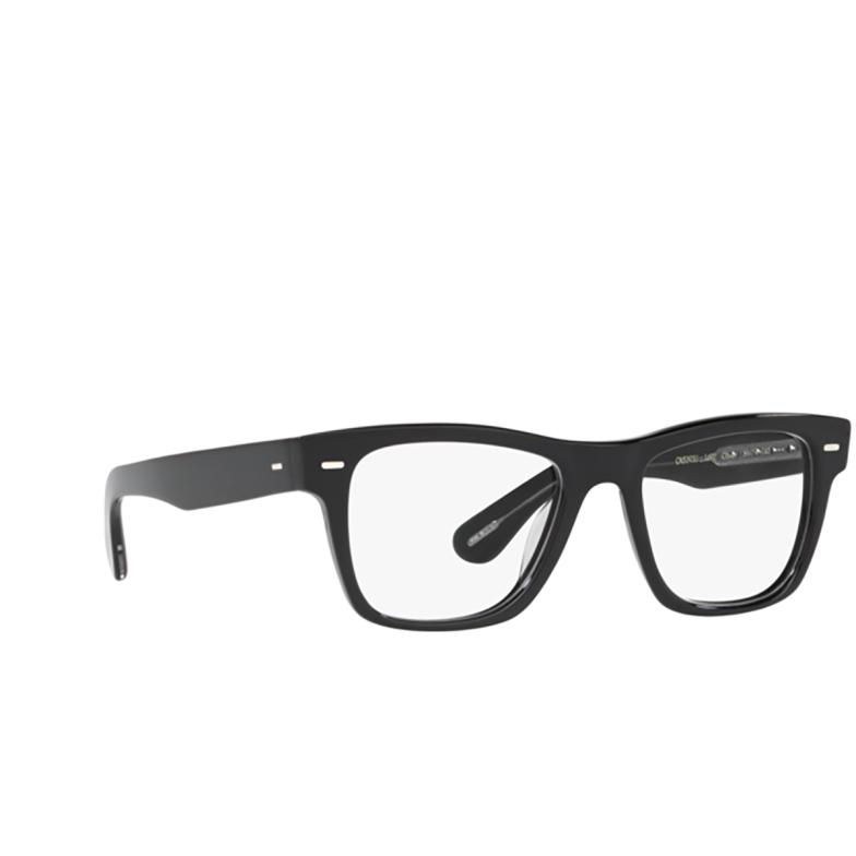Oliver Peoples® Square Eyeglasses: Oliver OV5393U color Black 1492.