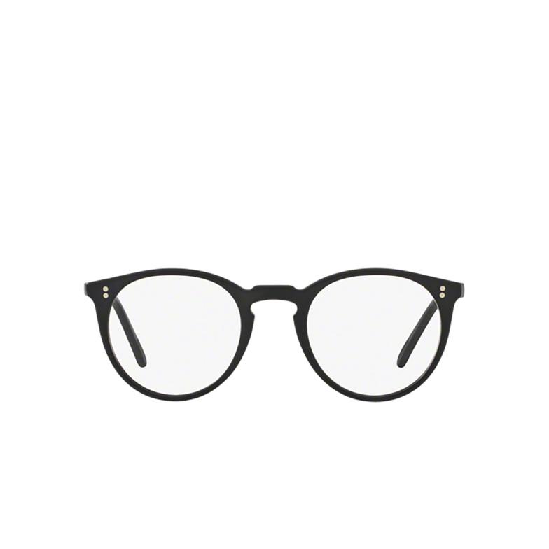 Oliver Peoples® Round Eyeglasses: O'malley OV5183 color Black Semi Matte 1465.