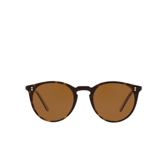 Oliver Peoples® Round Sunglasses: O'malley Sun OV5183S color 362 / Horn 166653.