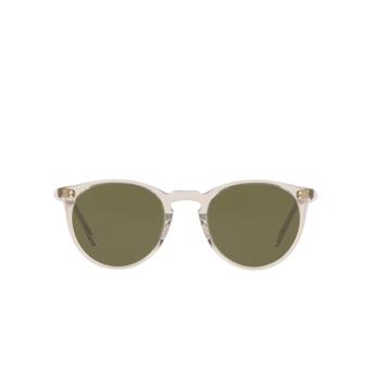 Oliver Peoples® Round Sunglasses: O'malley Sun OV5183S color Black Diamond 166952.