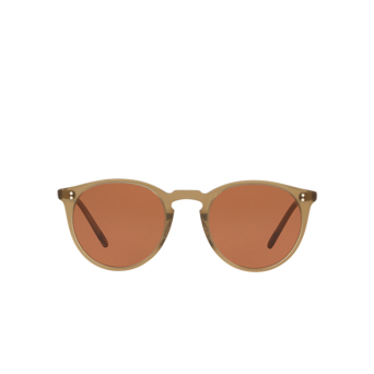 Oliver Peoples® Round Sunglasses: O'malley Sun OV5183S color Dusty Olive 167853.