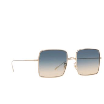 Oliver Peoples® Square Sunglasses: Rassine OV1236S color Soft Gold 503575.