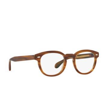Oliver Peoples® Square Eyeglasses: Sheldrake OV5036 color Semi Matte Raintree 1579.