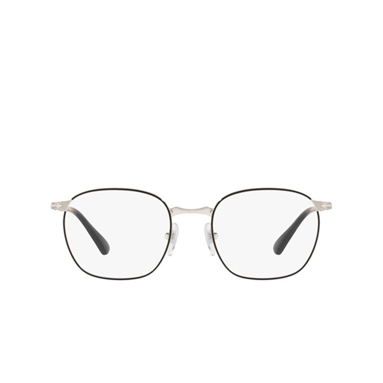Persol® Square Eyeglasses: PO2450V color Silver Black 1074.