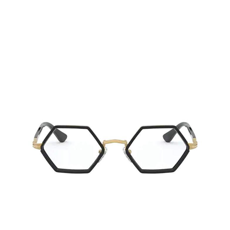 Persol® Irregular Eyeglasses: PO2472V color Gold & Black 1097.