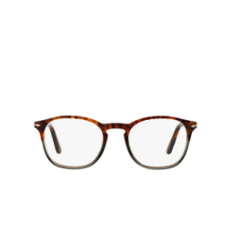 Persol® Eyeglasses: PO3007V color Green And Havana Striped 1023.