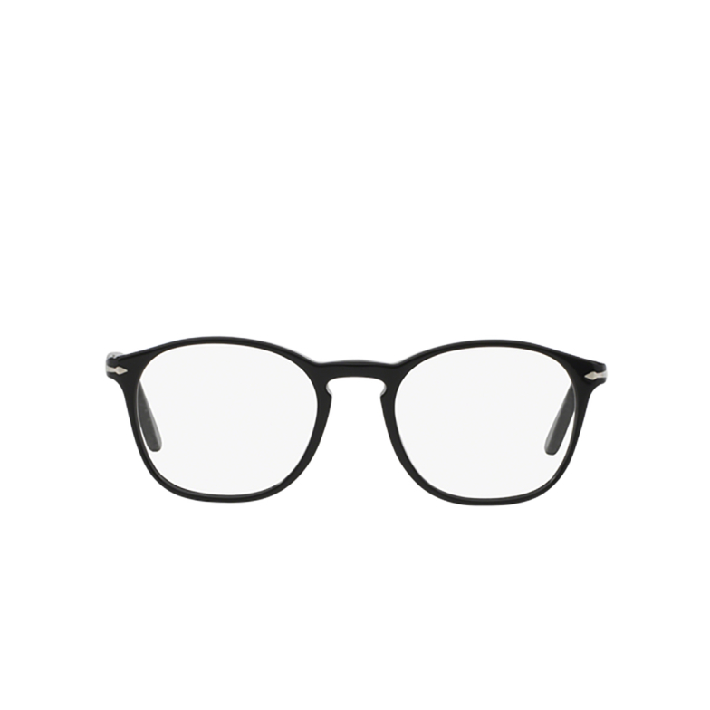 Persol® Square Eyeglasses: PO3007V color Black 95.