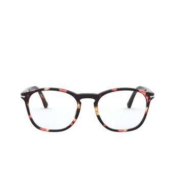 Persol® Square Eyeglasses: PO3007VM color Pink & Brown Tortoise 1059.