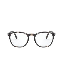 Persol® Eyeglasses: PO3007VM color Striped Brown & Smoke 1124.