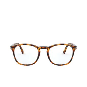 Persol® Square Eyeglasses: PO3007VM color Yellow Tortoise 71.