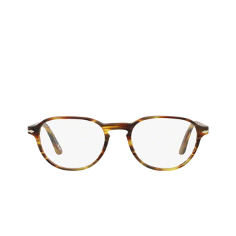 Persol® Square Eyeglasses: PO3053V color Havana 24.