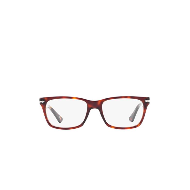 Persol® Square Eyeglasses: PO3078V color Havana 24.