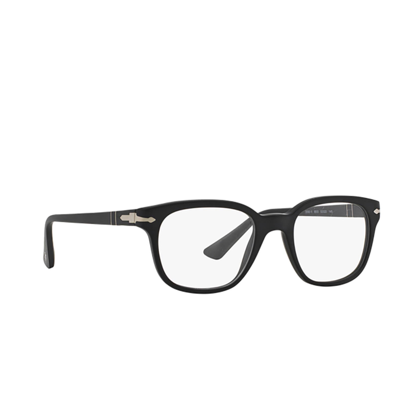 Persol® Square Eyeglasses: PO3093V color Black 9000.