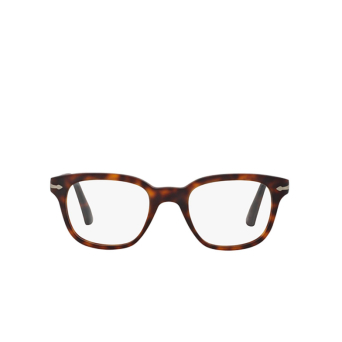 Persol® Square Eyeglasses: PO3093V color Havana 9001.