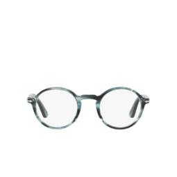 Persol® Eyeglasses: PO3141V color Striped Grey 1051.