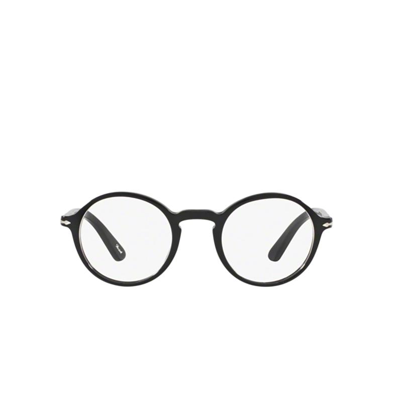 Persol® Round Eyeglasses: PO3141V color Black 95.