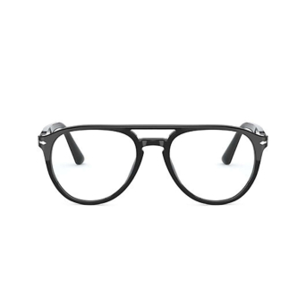 Persol® Aviator Eyeglasses: PO3160V color Black 95.
