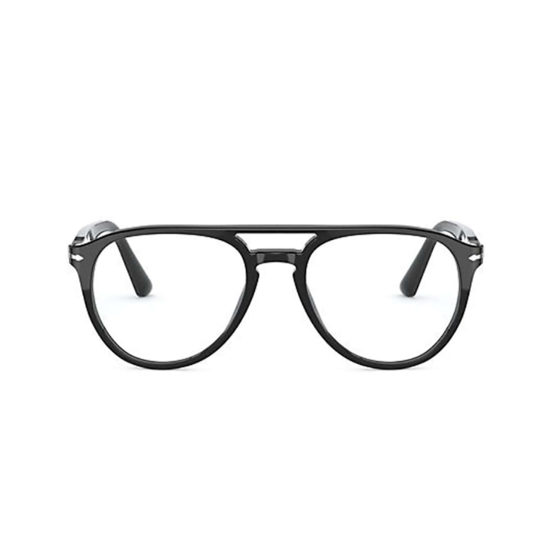 Persol® Aviator Eyeglasses: PO3160V color Black 95.