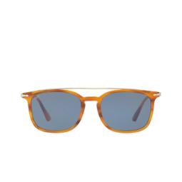 Persol® Sunglasses: PO3173S color Striped Brown 960/56.