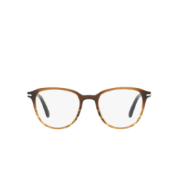 Persol® Eyeglasses: PO3176V color Black Gradient / Striped Brown 1026.