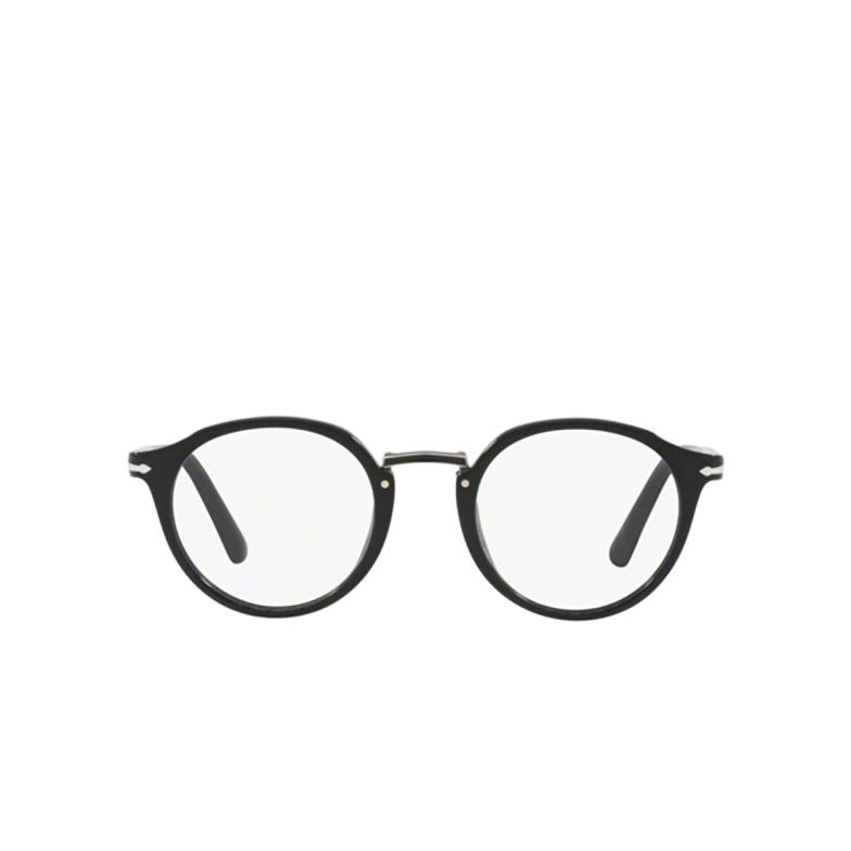 Persol® Round Eyeglasses: PO3185V color Black 95.