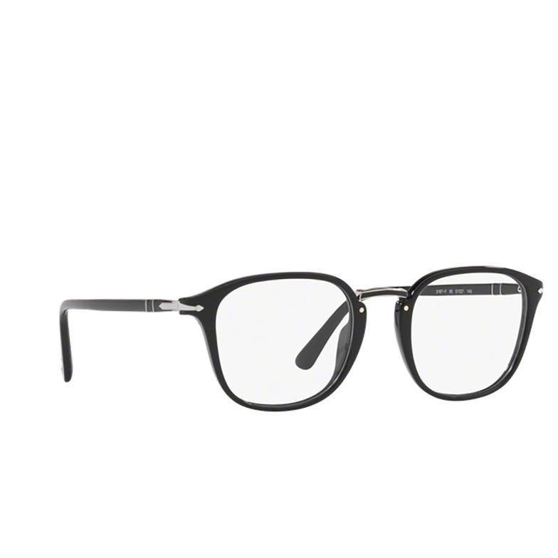 Persol® Square Eyeglasses: PO3187V color Black 95.