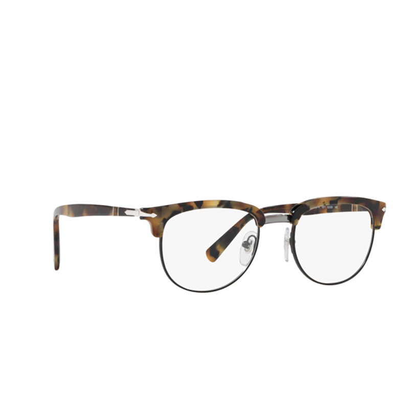 Persol® Butterfly Eyeglasses: PO3197V color Tortoise Brown Ice 1071.