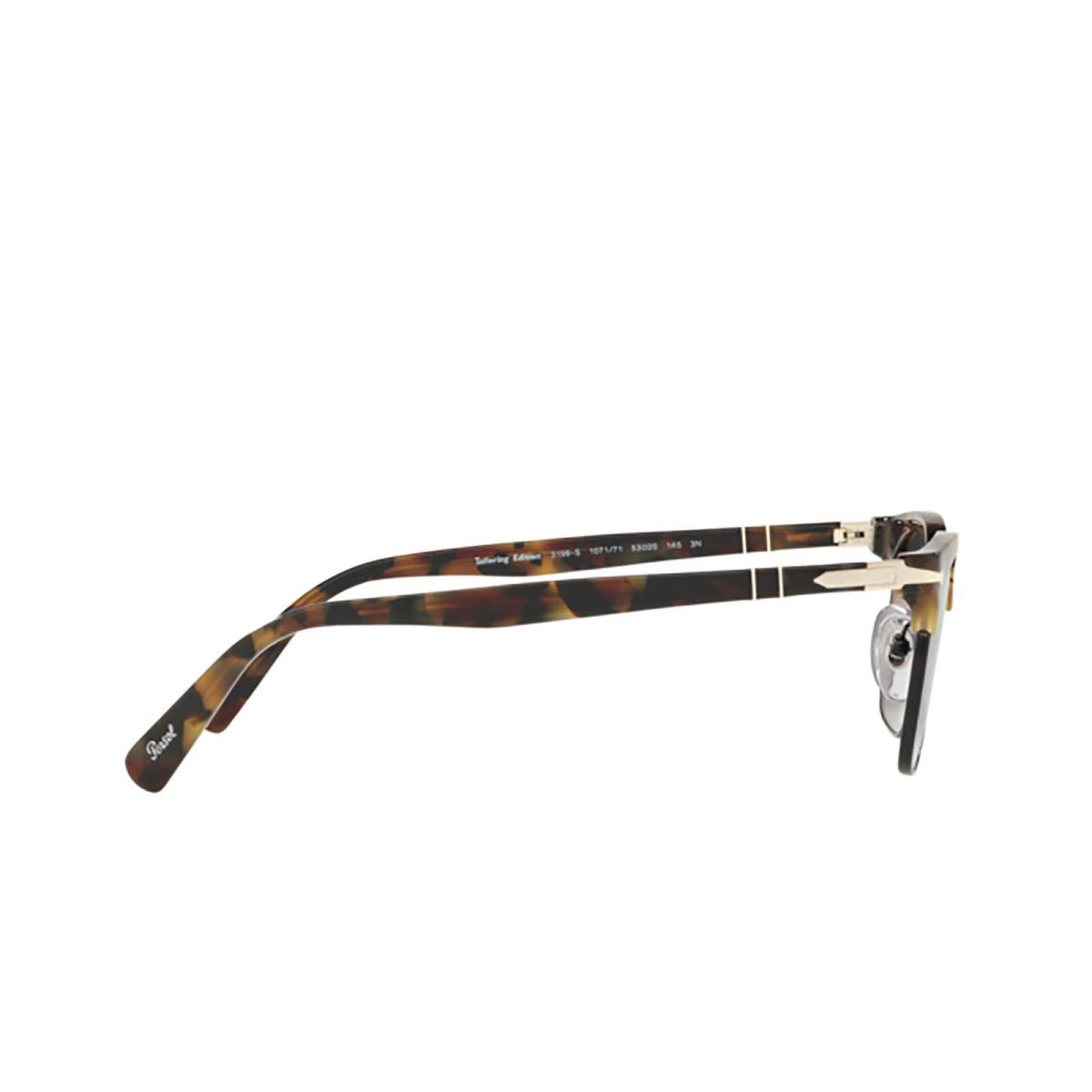 Persol® Square Sunglasses: PO3199S color Tortoise Brown Ice 107171 - 3/3.