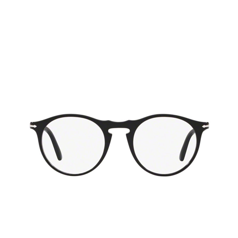 Persol® Round Eyeglasses: PO3201V color Black 95.