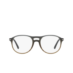 Persol® Eyeglasses: PO3202V color Gradient Grey Stripped Green 1012.