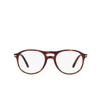 Persol® Aviator Eyeglasses: PO3202V color Havana 24.