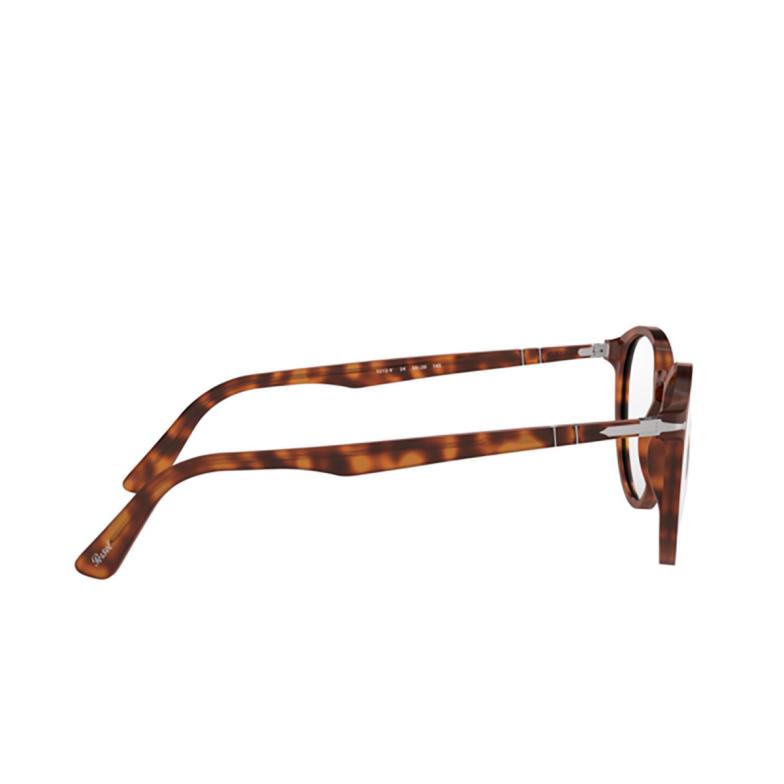 Persol® Round Eyeglasses: PO3212V color Havana 24.
