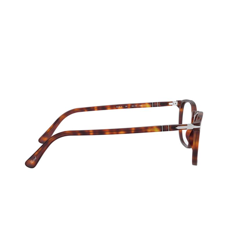 Persol® Rectangle Eyeglasses: PO3220V color Havana 24.