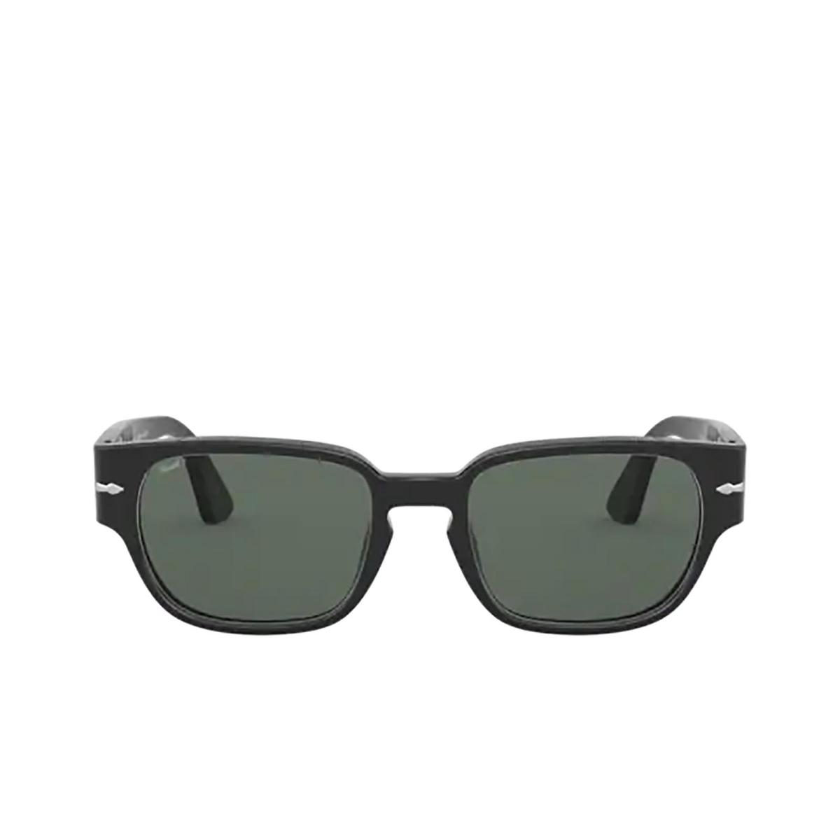 Persol® Rectangle Sunglasses: PO3245S color Black 95/58.