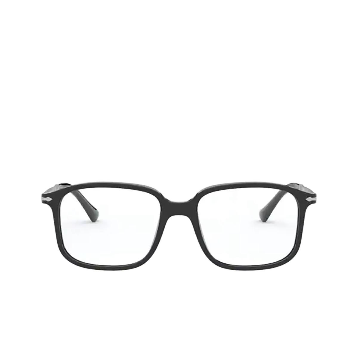 Persol® Rectangle Eyeglasses: PO3246V color Black 95.