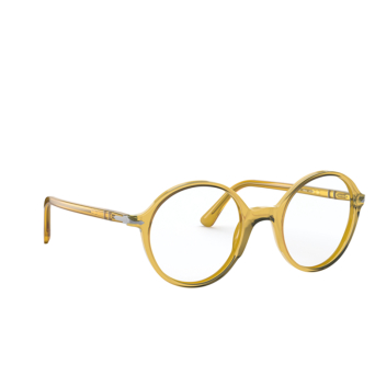 Persol® Round Eyeglasses: PO3249V color Honey 204.