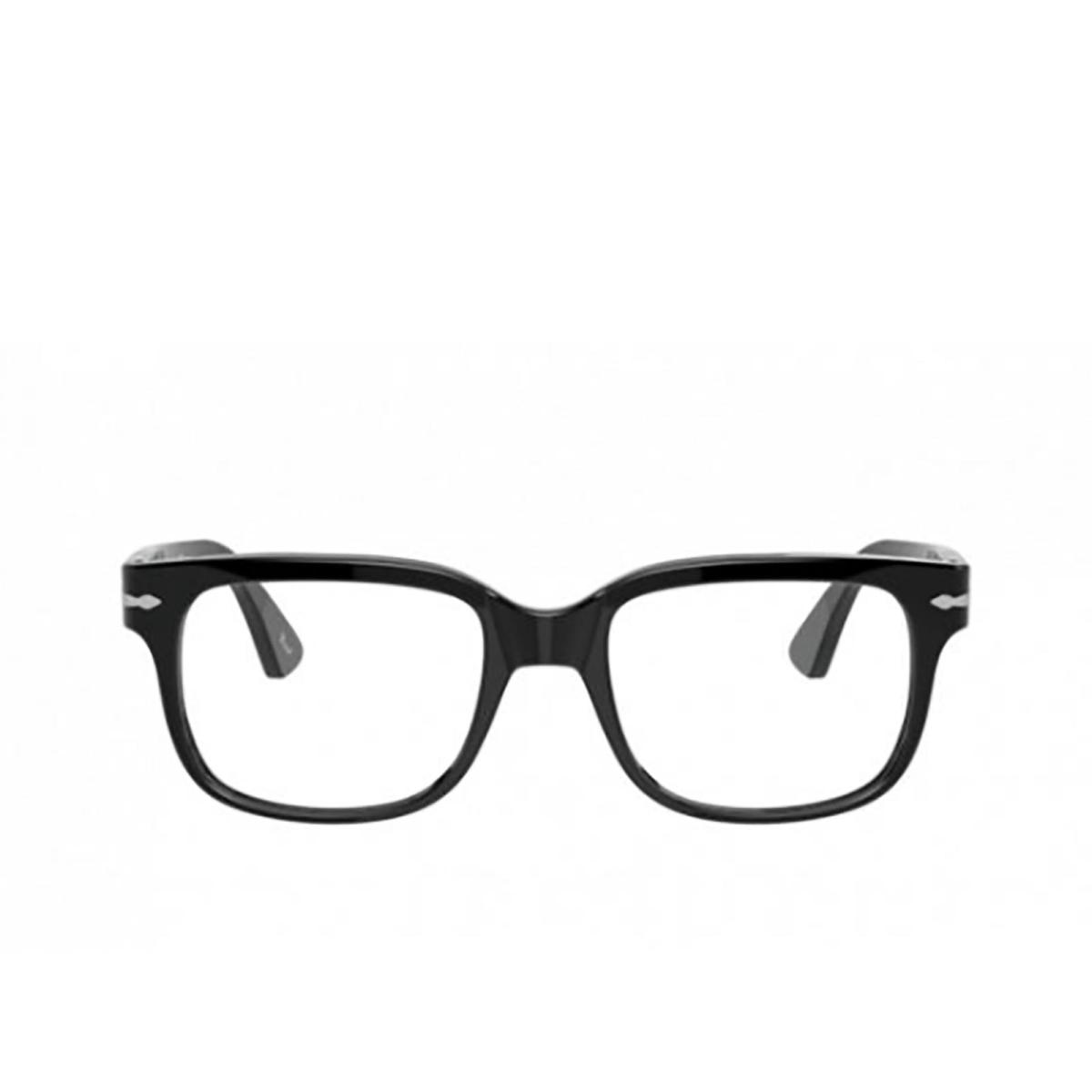 Persol® Square Eyeglasses: PO3252V color Black 95.