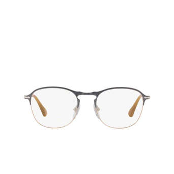 Persol® Square Eyeglasses: PO7007V color Grey / Light Brown 1071.