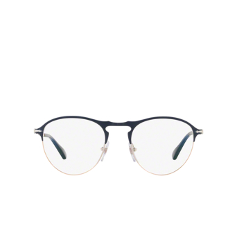 Persol® Round Eyeglasses: PO7092V color Blue / Bronze 1073.
