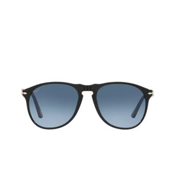 Persol® Aviator Sunglasses: PO9649S color Black 95/Q8.