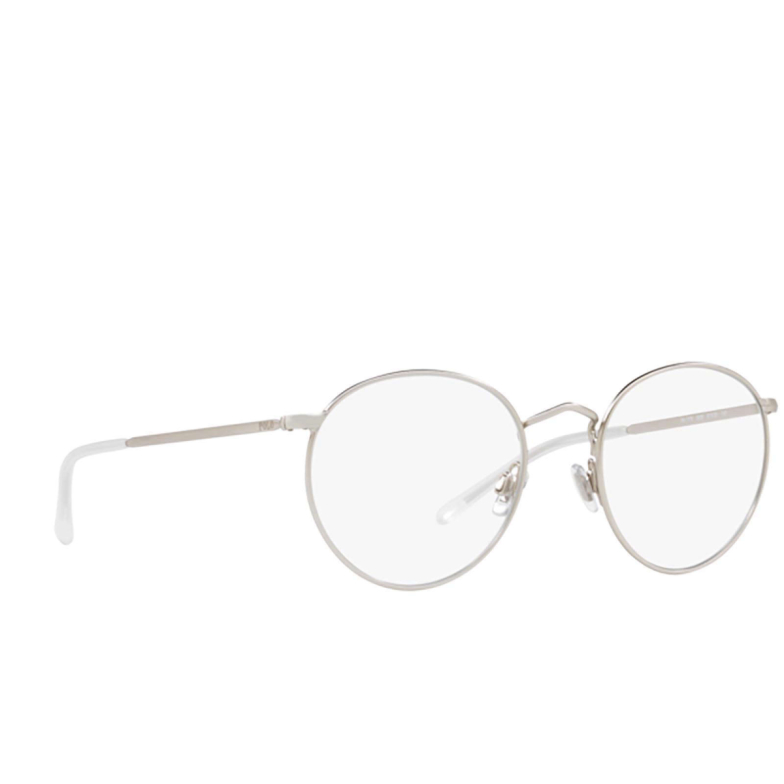 Polo Ralph Lauren® Round Eyeglasses: PH1179 color Semi-shiny Brushed Silver 9326.